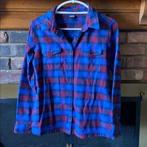 NWOT Patagonia plaid flannel shirt